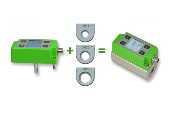 Débitmètre compact en ligne pour DN15 , DN20 et DN25 EE741