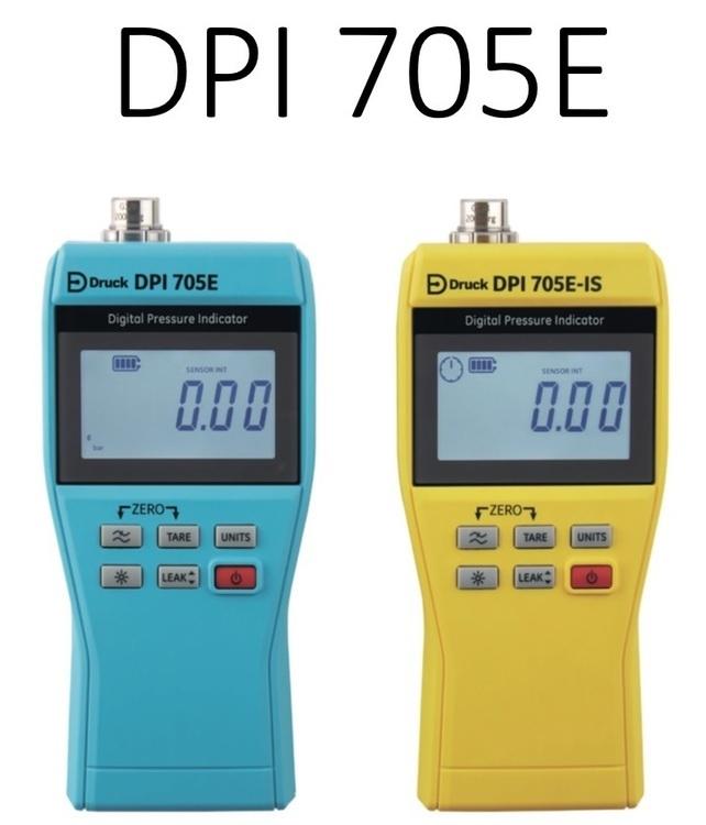 Manomètre numérique de précision de sécurité intrinsèque DPI705E-IS