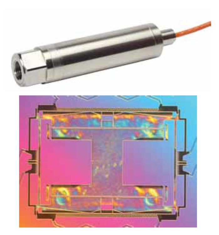 Capteur de pression avec une communication numérique Druck RPS/DPS 8100