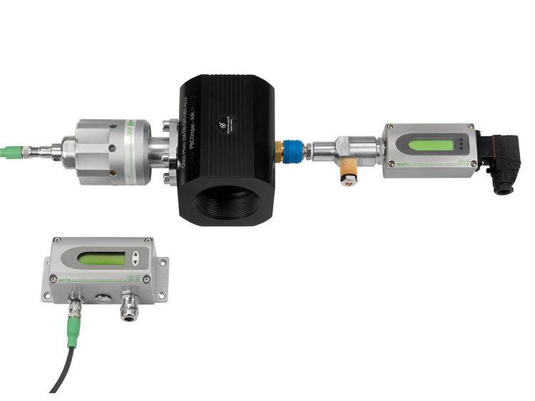 Débitmètre massique en ligne EE772 pour DN40…DN80