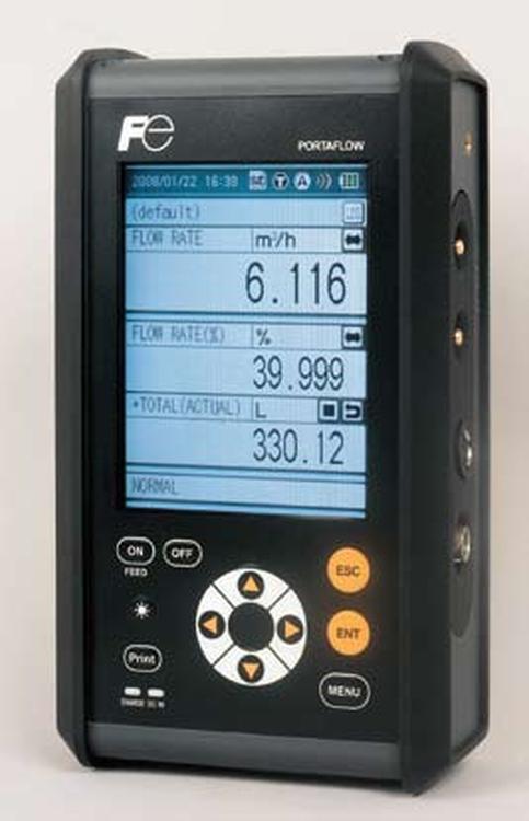 Débitmètre à ultrasons portable PORTAFLOW-C