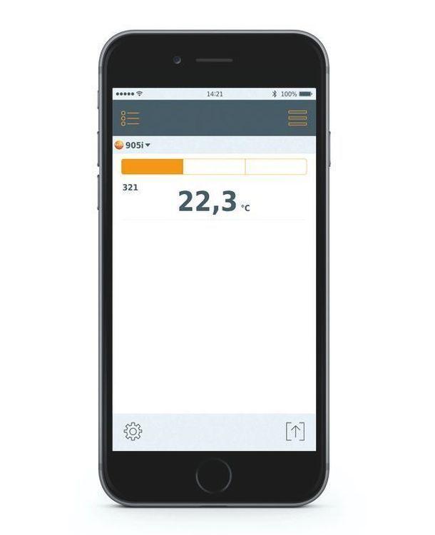 Thermomètre avec commande Smartphone - Testo 905 i
