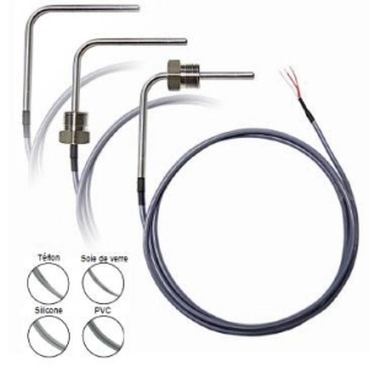 Sondes PT100 et PT100 Filaires (élément résistif filaire)