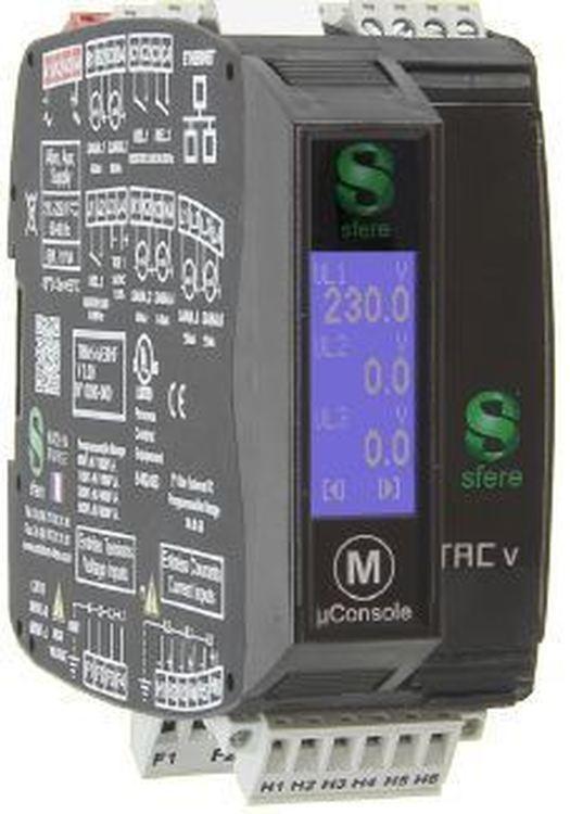 Transmetteur numérique de mesures Série µTACv500