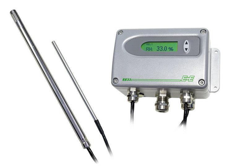 EE31 Transmetteur d'humidité mesure précise jusqu'à 180 °C