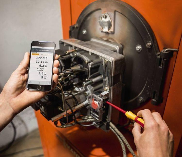 Kit étendu Analyseur de combustion dans un kit -« testo 330i » -