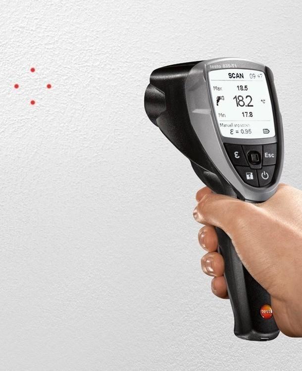 Thermomètre Infrarouge TESTO Gamme 835
