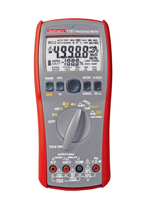 Multimètre TRMS 50.000 points - SEFRAM 7357