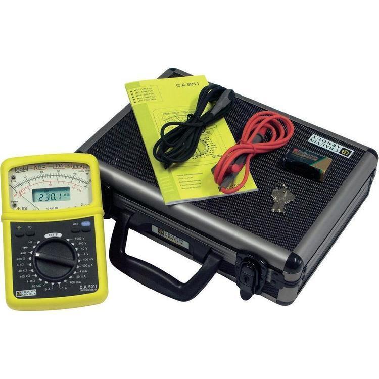Multimètre TRMS analogique et numérique C.A. 5011