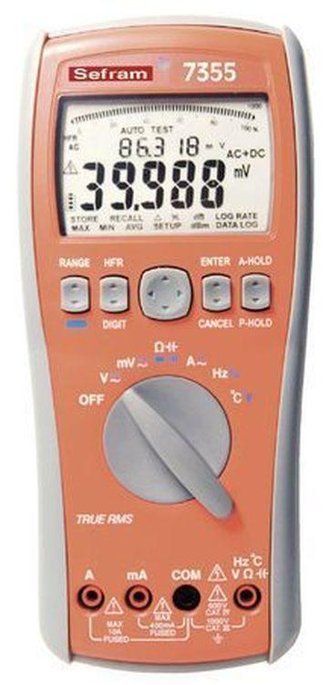 Multimètres Numériques Haute Précision SEFRAM 735X