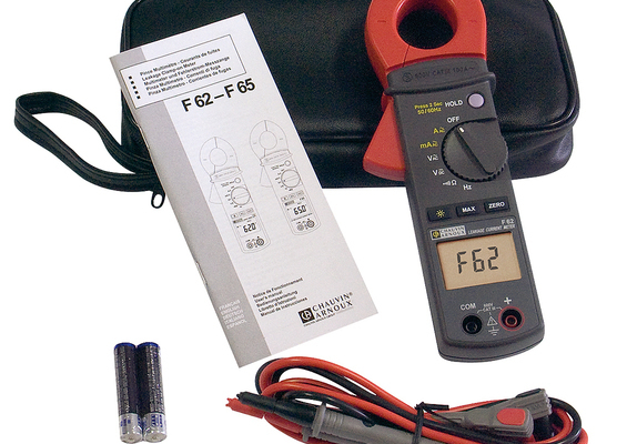 Pinces multimètres courant de fuite F62-F65