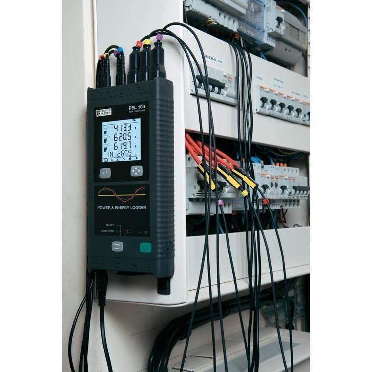 Enregistreur de puissance et d'énergie Chauvin Arnoux PEL100