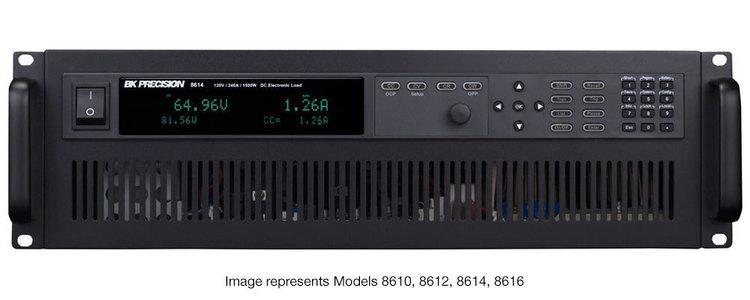 Charges électroniques programmables BK8600 de 150W à 6000W