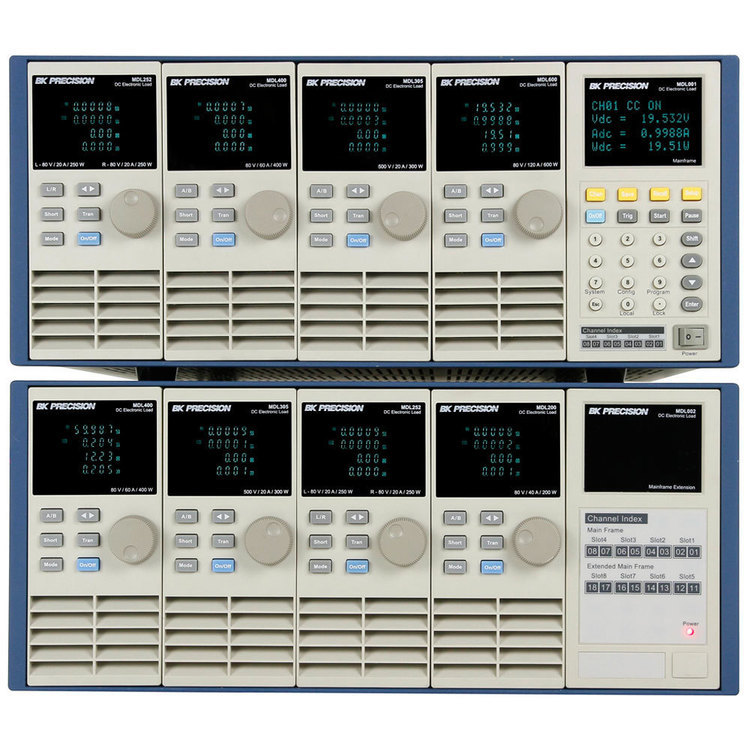 Charge électronique modulaire série MDL,