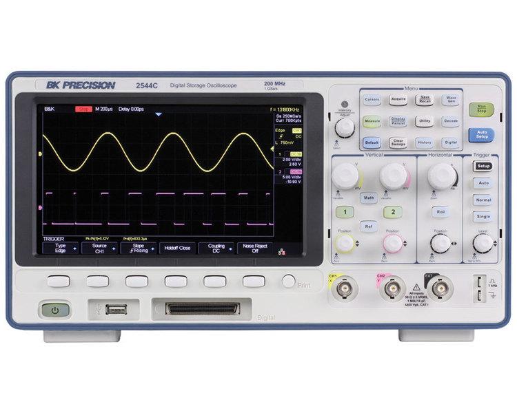 Oscilloscopes numériques DSO et MSO 70 MHz, 100 MHz et 200 MHz - 2 Voies - SEFRAM