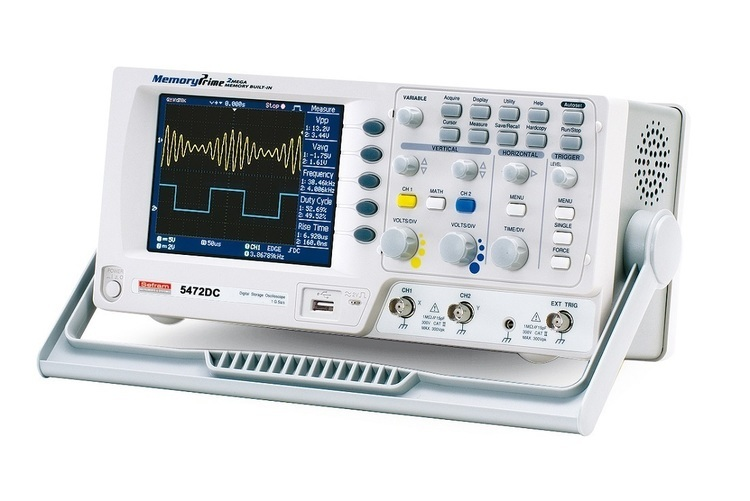 Oscilloscopes numériques 70 MHz, 100 MHz et 150 MHz - SEFRAM
