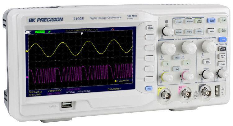 Oscilloscope numérique 100MHz - SEFRAM BK 2190E - NOUVEAUTE 2019