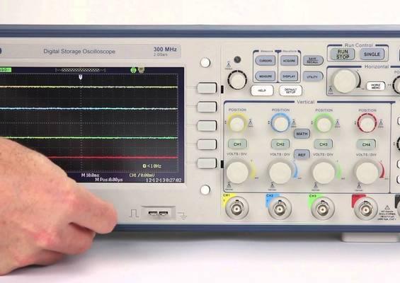 Oscilloscopes Numériques SEFRAM BK25XX