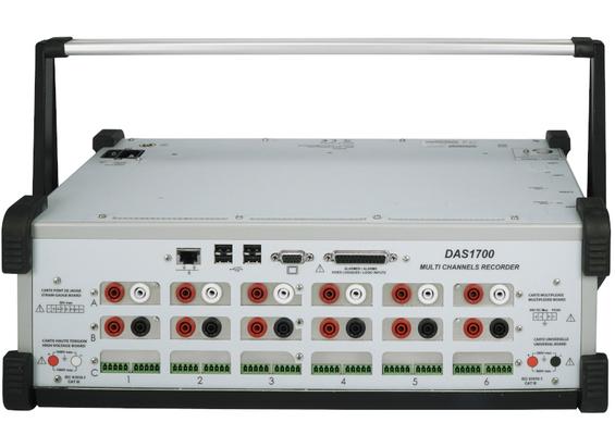 Système d'Acquisition de Données de 6 à 72 voies analogiques DAS 1700