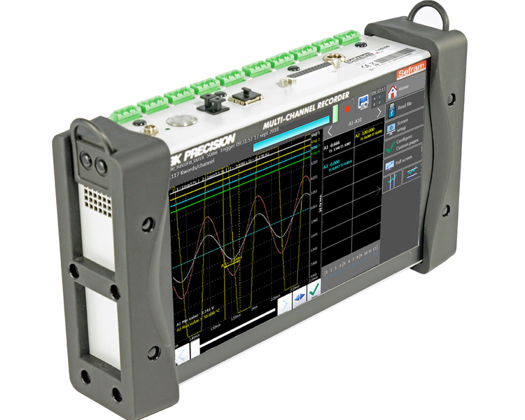 Système d'acquisition de données portable 10 voies DAS220