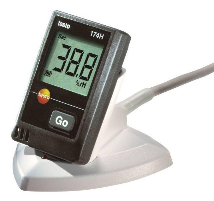 testo 174 H set - Mini-enregistreur de données pour la température et l'humidité de l'air