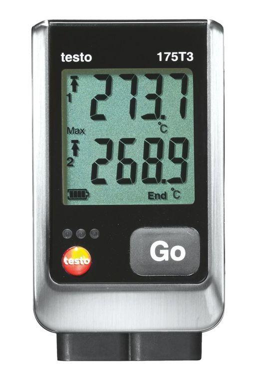 Enregistreur de température Testo 175 T1/T2/T3