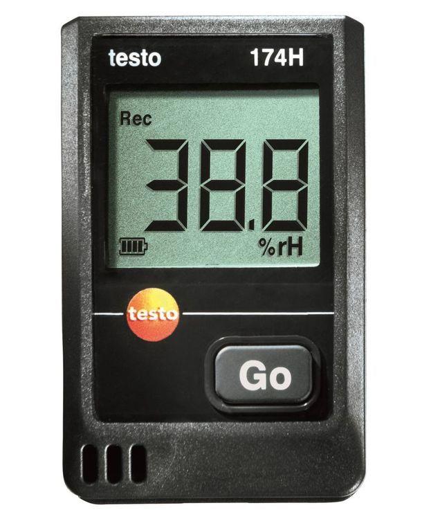 Mini-enregistreur de température et d'humidité Testo 174 H