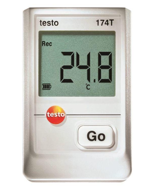 Mini-enregistreur de données pour la température Testo 174 T