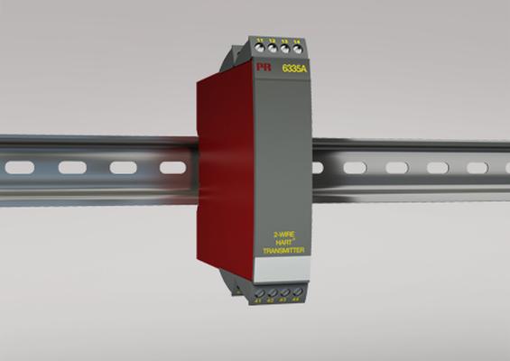 Transmetteur 2 fils avec protocole HART 6335A PR electronics