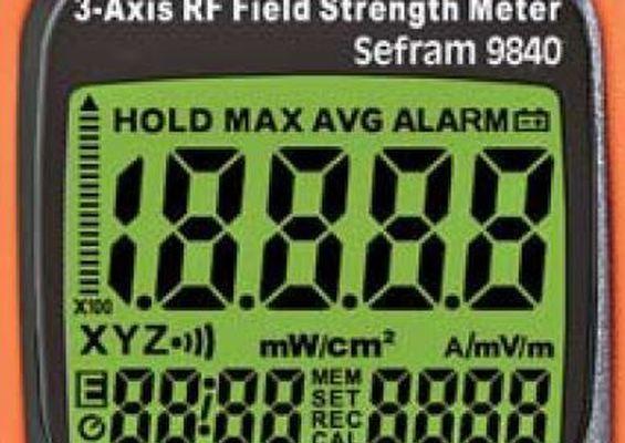 Mesureur de champ électromagnétique 3 axes Modèle 9840