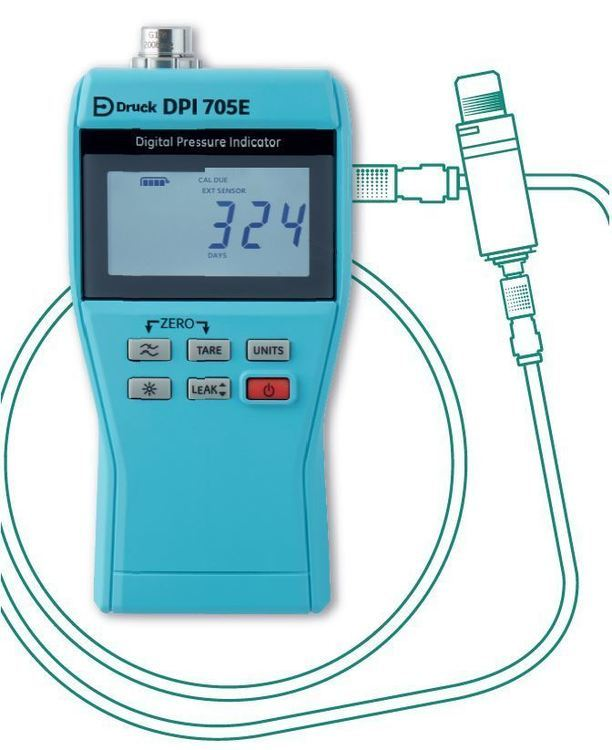 Manomètre numérique de précision DPI 705E