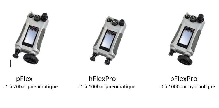 Calibrateur de pression DPI 612