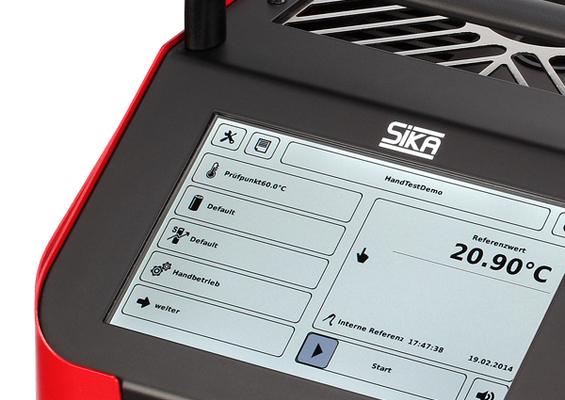 Fours calibrateur de temperature portable SIKA Série TP Premium