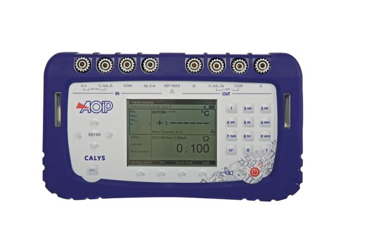 Calibrateur de process AOIP CALYS