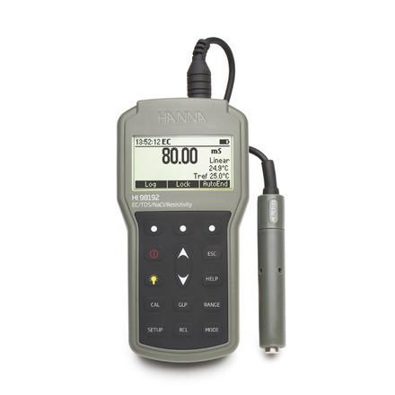 Conductimètre portatif étanche HI98192