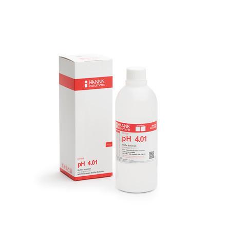 Solution tampon pH 4.01 bouteille 500 ml HI7004L