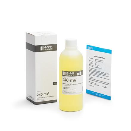 Solution de test rédox à 240 mV bouteille 500 ml HI7021L