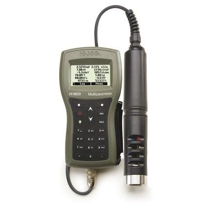 Multiparamètre HI9829 pH/redox/EC/OD/turbidité