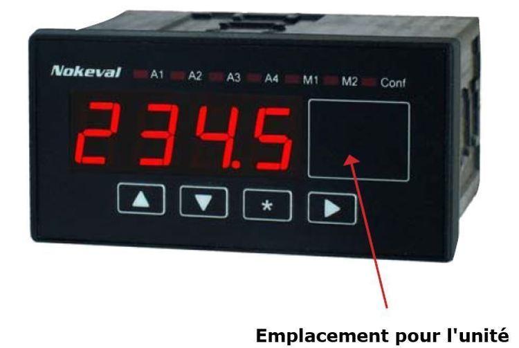 Indicateur Numérique Programmable série PME600
