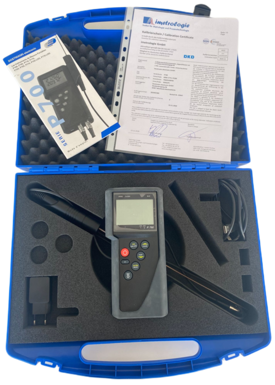Thermomètre de précision DataLogger P790 avec application Smartphone