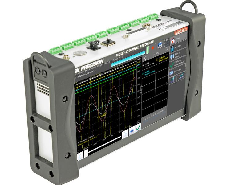 Système d'acquisition de données portable 10 voies multiplexées Modèle DAS220 (prix à la semaine)