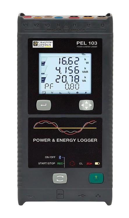 Enregistreur de puissance et d'énergie Chauvin Arnoux PEL103 (prix à la semaine)