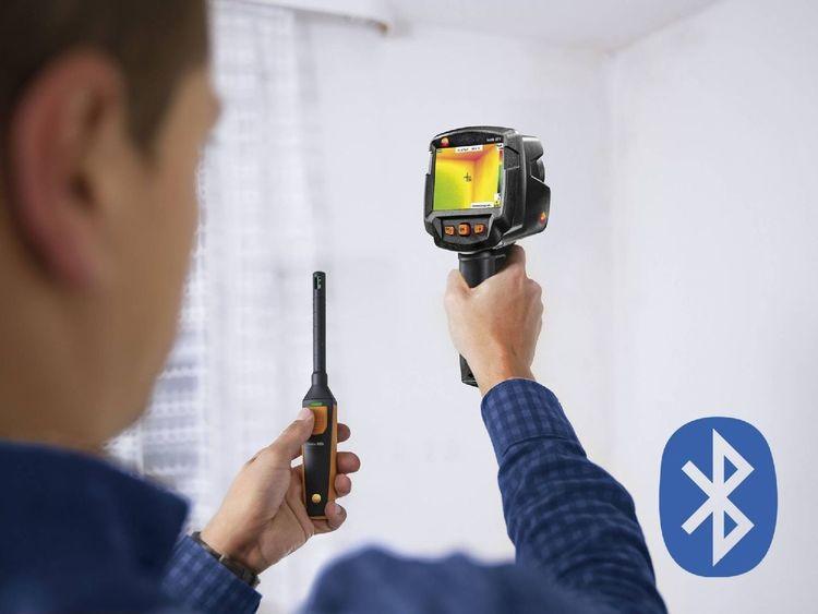 Testo 872 - Caméra thermique (320 x 240 pixels, App, laser) (prix à la semaine)