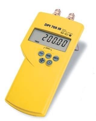 Manomètre numérique de poche DPI705 ATEX (prix à la semaine)