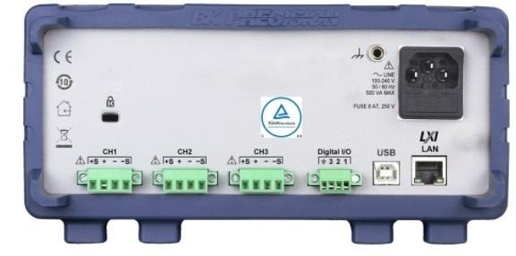 Alimentation DC Triple Stabilisée Multi-gammes, 8A/32V, 300W