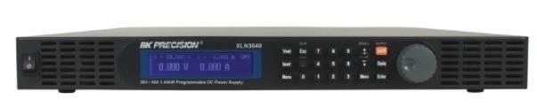 Alimentation stabilisée simple rackable (0-100V,0-14A), interface USB et RS-485