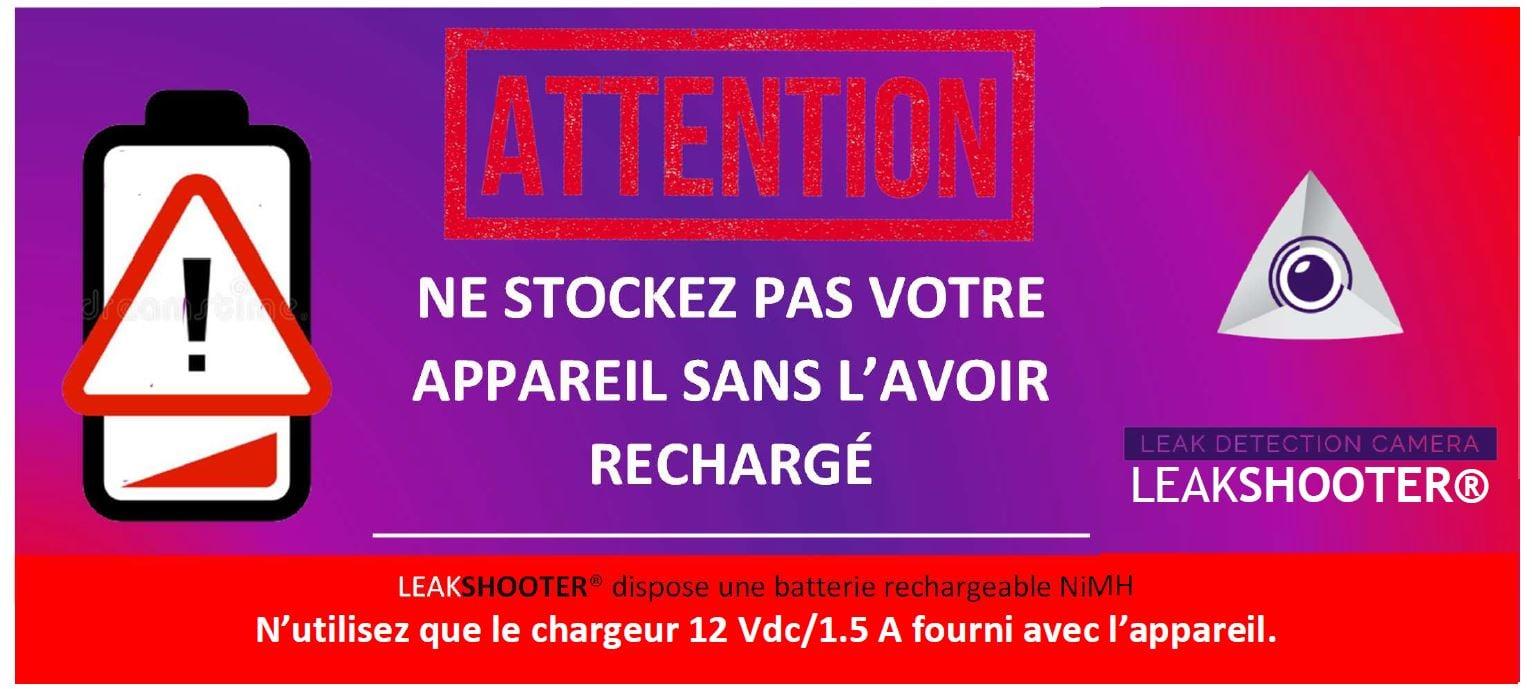 Info Batterie LEAKSHOOTER®